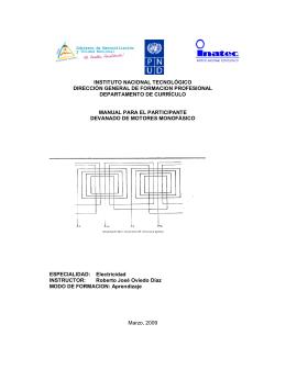 5-.- Calculo de condensador de arranque para motores monofasicos