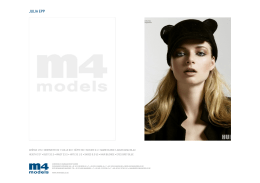 Julia Epp - M4 Models