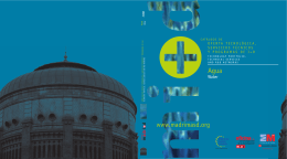 Catálogo de oferta tecnológica, servicios técnicos y programas de I+D