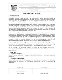 1-2013-filtros-final.. - Gerencia Nacional de Recursos Evaporíticos