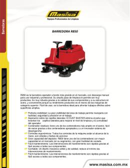 BARREDORA R850