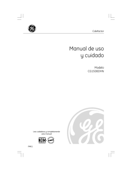 Manuales Manual de instalación