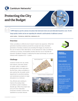 Protecting the City and the Budget