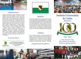misión - Instituto Universitario de Caldas
