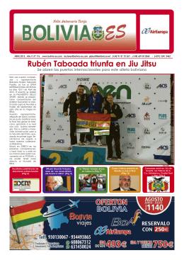 Rubén Taboada triunfa en Jiu Jitsu Se abren las puertas