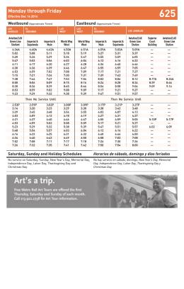 Line 625 (12/14/14) -- Metro Local