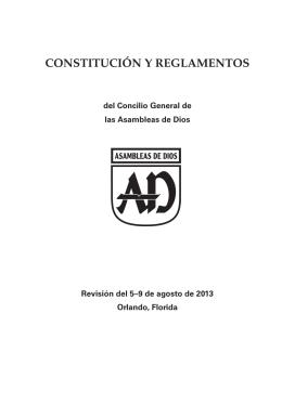 Constitución y Reglamentos AD