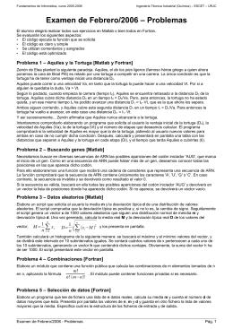 FI0506 Examen Febrero 2006