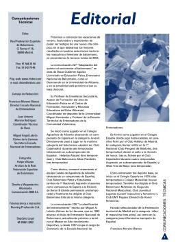 Adaptación del quinto rol sociomotor al balonmano
