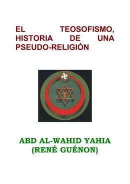 Guenon, Rene - religion