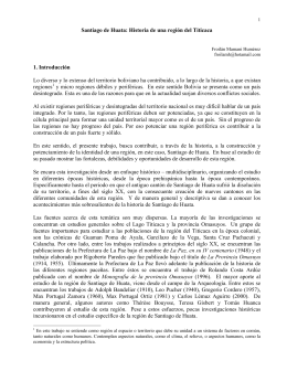 Santiago de Huata: Historia de una región del Titicaca 1