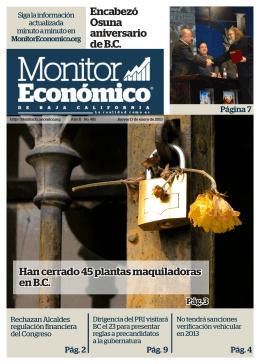 17 enero 2013 - Monitor Económico