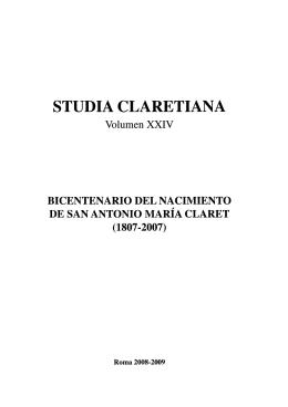 STUDIA CLARETIANA - Llibreria Claret