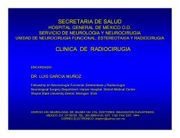 Clínica de Radiocirugía - Hospital General de México