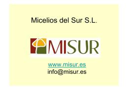 Micelios del Sur S.L. - GDR Altiplano de Granada
