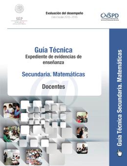 @Guía Técnica - Servicio Profesional Docente