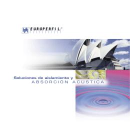 Catálogo acustico.indd - Colegio Oficial de Aparejadores y