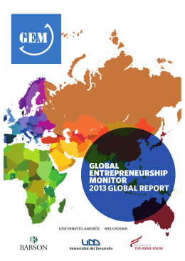 2013 GEM Global Report