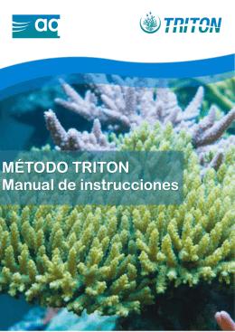 MÉTODO TRITON Manual de instrucciones - AQ