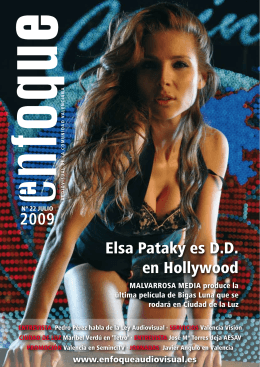 Elsa Pataky es D.D. en Hollywood