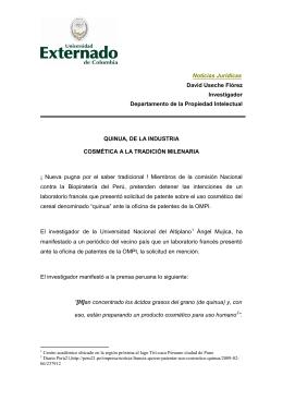 Noticias Jurídicas David Useche Flórez Investigador Departamento