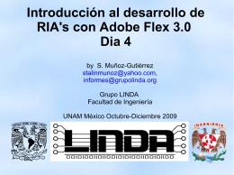 Introducción al desarrollo de RIA`s con Adobe Flex
