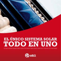 Catálogo sistema solar OKSOL-150-ESP