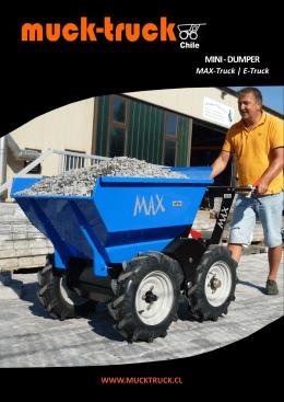 Catálogo mini dumper Max