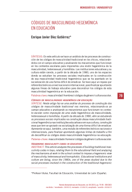 síntesis - Revista Iberoamericana de Educación