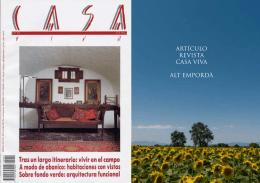 artículo revista casa viva alt empordà