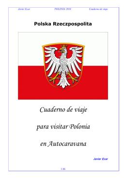 Cuaderno de viaje a Polonia