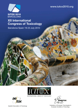 Full Congress Program Book - Tox - Universidad Miguel Hernández