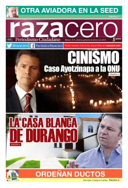 ORDEÑAN DUCTOS - Periódico Razacero
