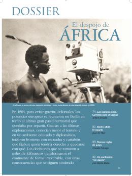 El despojo de África