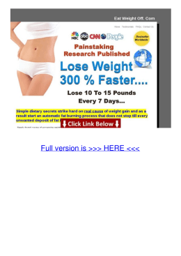 Text Eat-weight-off Lose 10 To 15 Pounds In One Week