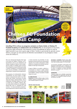 Chelsea FC Foundation Football Camp