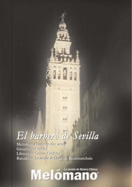El barbero de Sevilla El barbero de Sevilla