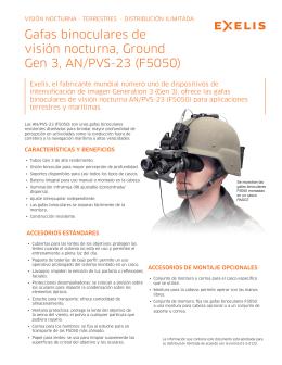 Exelis visión nocturna Ground Gen 3 AN / PVS