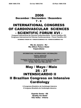 N° 01 - Cardiovascular Sciences Forum