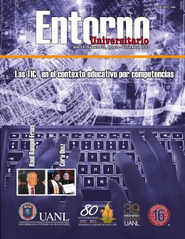 Entorno Universitario Número 39 - Universidad Autónoma de Nuevo