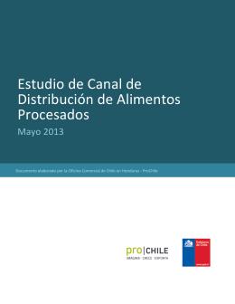 Estudio de Mercado XXX - País