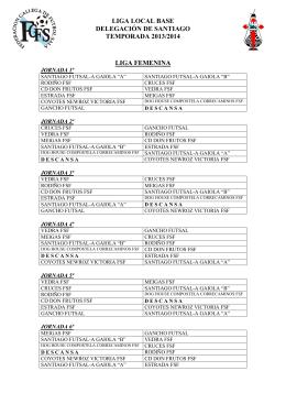 calendario 2013-2014