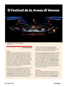 El Festival de la Arena di Verona