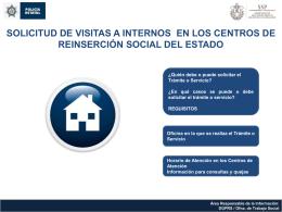 Visita Familiar a Internos de los diferentes Centros de Reinserción