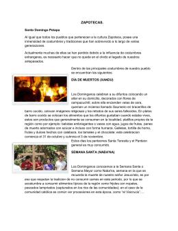 Zapoteca, Totonaca, Mazateca, Huasteca y