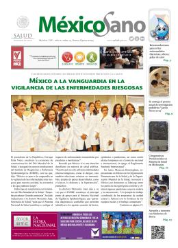 México a la vanguardia en la vigilancia de las enfermedades