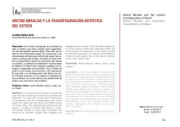 AM y la transfiguración artística del ki[...]