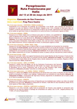 La Italia franciscana