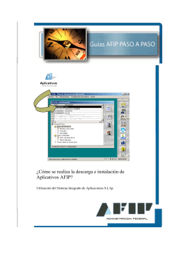 ¿Cómo se realiza la descarga e instalación de Aplicativos AFIP?
