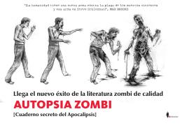 AUTOPSIA ZOMBI - Editorial Almuzara